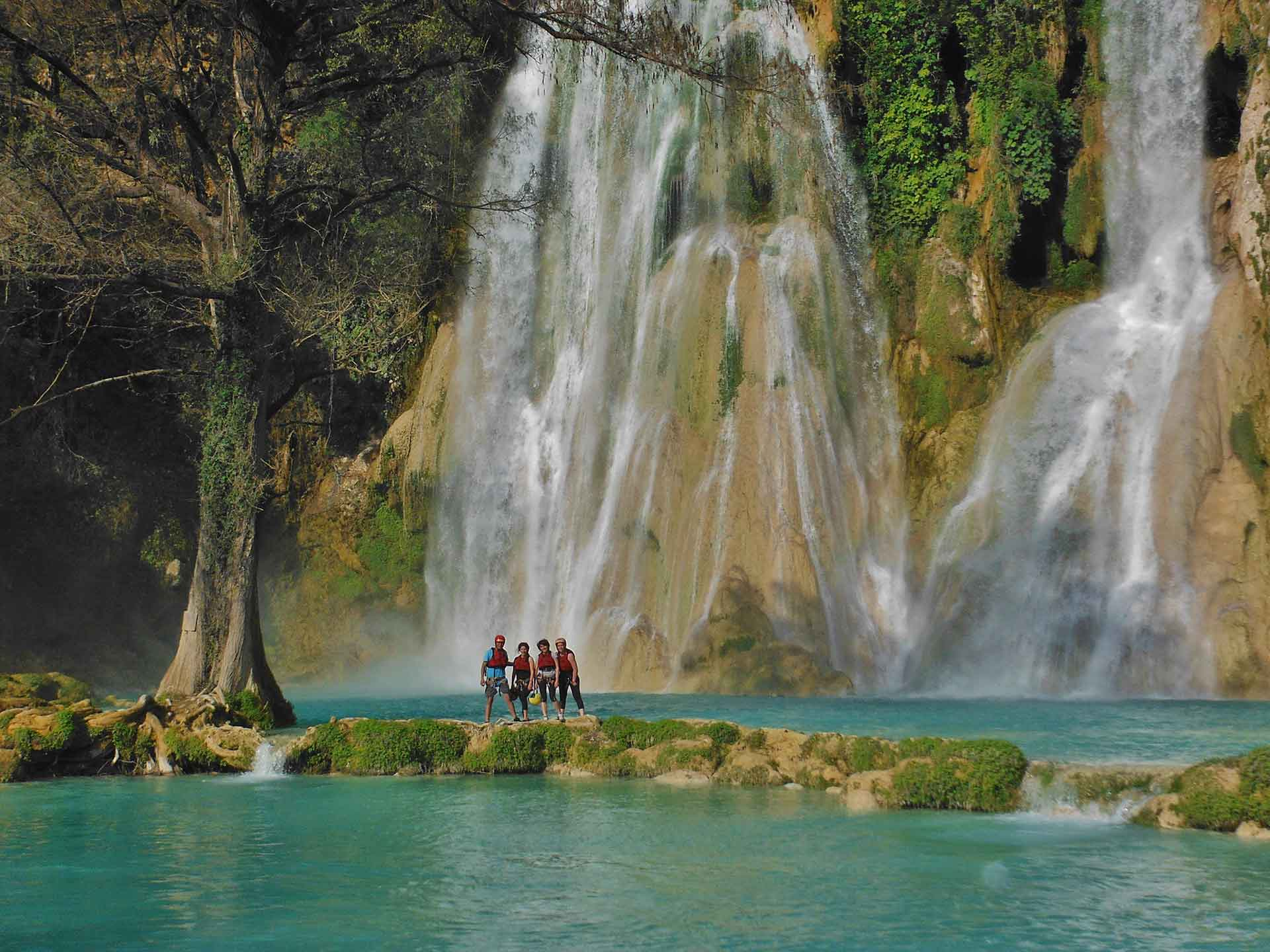 Fotos de ecoturismo en la huasteca potosina for Fotos cascadas